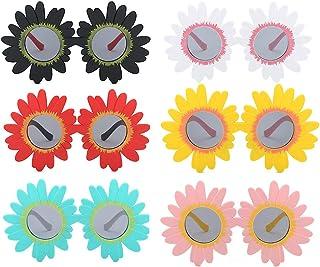 Greetuny - 1X 3-12 año Gafas infantiles divertidas Lindo Margarita Flor Gafas de sol infantiles niña Playa Fiesta Creativo Cumpleaños Regalo