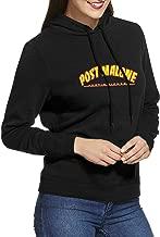 Womens Hoodie, Post-Malone Casual Long Sleeve Hoodie Adjustable Drawstring Hooded