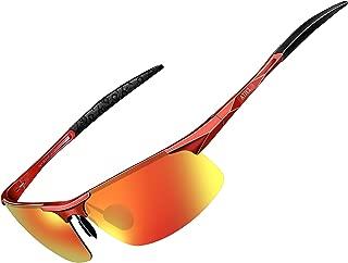 ATTCL Men's Fashion Driving Polarized Sports Sunglasses for Men Al-Mg Metal Frame Ultra Light