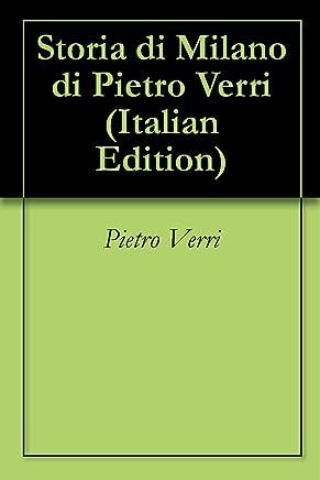 Storia di Milano di Pietro Verri