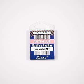 Klasse Anti-Glue Needles, Size 75/11, 1 Pack, 4pcs, AA5116.075