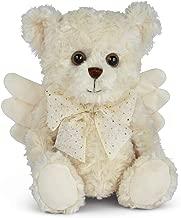 Bearington Peace Plush Stuffed Animal Angel Teddy Bear, 12