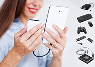 POWERED (OTG) Micro-USB works with HTC Desire 626 (International) for connecting any compatible USB Accessory/Device/Drive/Flash/and truly On-The-Go! (Black)