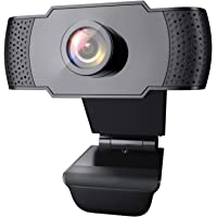 Wansview 1080p USB 2.0 Webcam with Microphone & Auto Light Correction