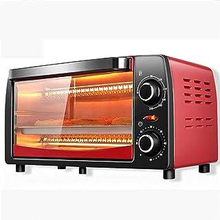 Mini horno dom/éstico horno multifuncional para hornear pasteles de pizza con temporizador de 60 minutos tostadora de acero inoxidable 2 capas 9L 220V-A