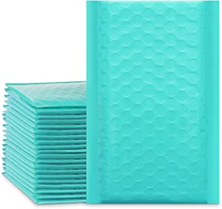 """UCGOU 6x10 Inch Teal Poly Bubble Mailers Padded Envelopes Self Seal Envelopes Bags Pack of 25 (Inside Size: 6x9"""")"""
