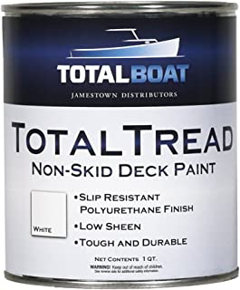 TotalBoat TotalTread Non-Skid Deck Paint, Marine-Grade Anti-Slip Traction Coating for..