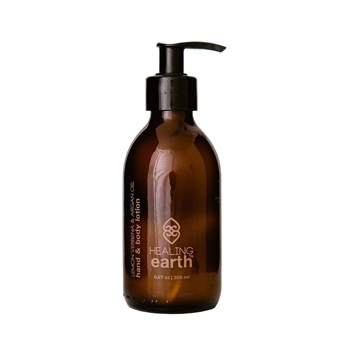 Healing Earth Lemon Verbena Max 60% OFF Hand Lotion 6.67 Body and 100% quality warranty Ounces