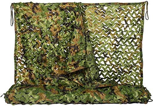 TZSWZW Cuerda de protección Solar Tejido de Camuflaje Neto pérgola Cubierta de Copas Lona Oxford Tela Militar for el jardín al Aire Libre W5Z0W9 (tamaño : 4X5M)