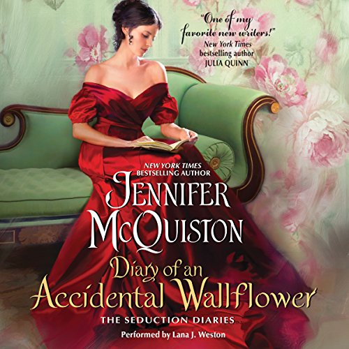 Diary of an Accidental Wallflower audiobook cover art