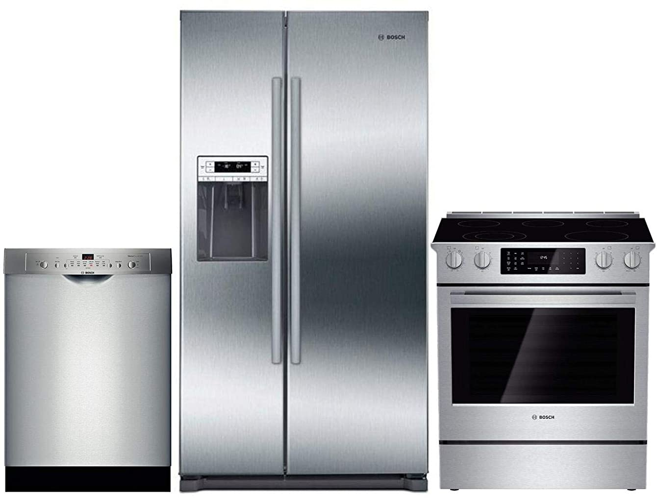 Bosch 3 Piece Kitchen Appliance Package with B20CS30SNS 36