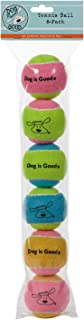 Dog is Good Tennis Balls for Dogs, 6-Packs