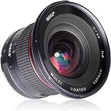 Meike 12mm f/2.8 X-Mount Ultra Wide Angle Fixed Lens Work for X-Pro1 X-Pro2 X-E1 X-M1 X-A1 X-E2 X-T1 X-A2 X-T10 X-E2s X-T2 X-A3 Fujifilm Mirrorless Cameras