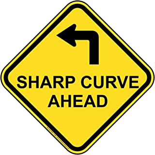 Best curve ahead sign Reviews