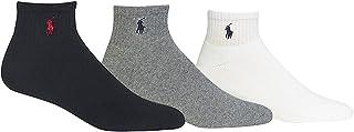 Polo Ralph Lauren 3-Pack Classic Cotton Ankle Socks