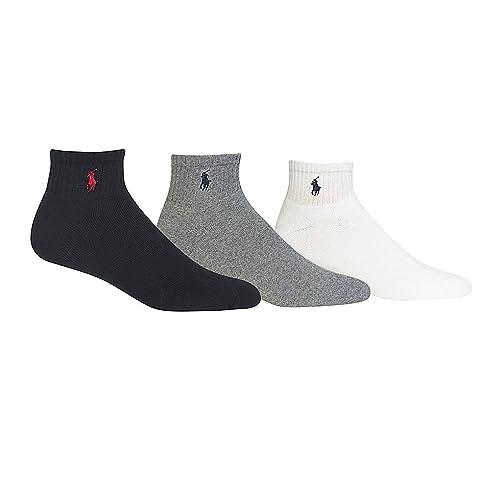 e49e753c4f7ea Polo Ralph Lauren 3-Pack Classic Cotton Ankle Socks