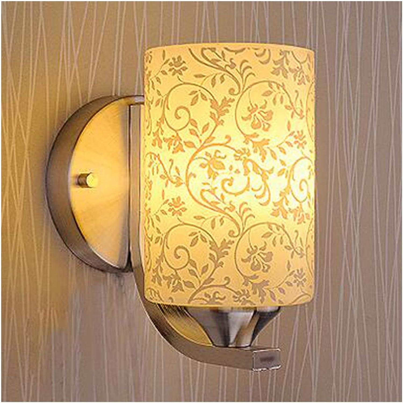 HENGXIAO-wall lamp Einzel- Und Doppelkopf Wandleuchte Wandlampe- Dekoration Creative Schlafzimmer Bett Kopfgang Treppe Wohnzimmerleuchte [Energieklasse A ++]