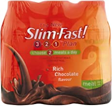 Slim-Fast Rich Chocolate Flavour Milkshakes 6x325ml – Pack of 2 Estimated Price : £ 43,44