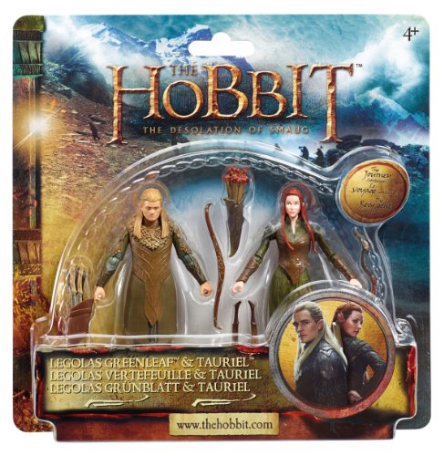 The Hobbit BD16014.0091 - Legolas und Tauriel - Figuren