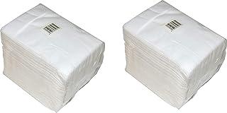 peluquer/ía peluquer/ía lisas negras belleza 80 x 40 cm fibra de viscosa natural 100/% biodegradable spa Toallas de sal/ón desechables