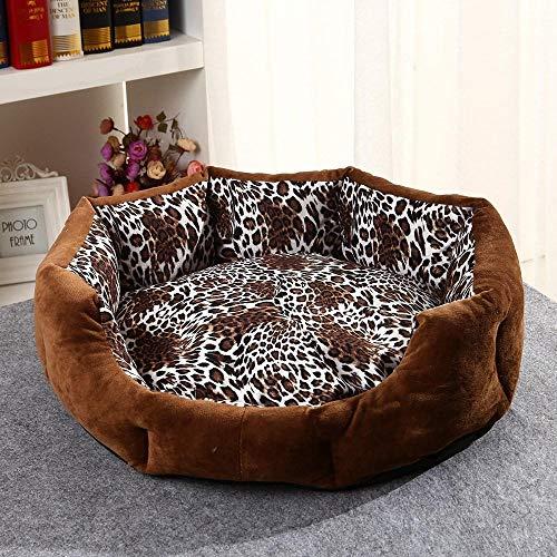 Hondenbedden Grote Wasbare Antistick Hondenmand Zacht en Comfortabel Kleine en Middelgrote Honden kunnen worden gewassen en gewassen Vier Seizoenen zijn verkrijgbaar in Gray_L, L 50 * 45cm, 2