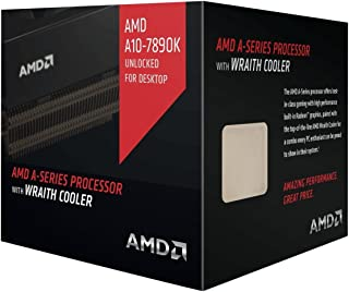 AMD A-series プロセッサ AMD A10 7890K Black Edition, with AMD Wraith Cooler FM2+ AD789KXDJCHBX