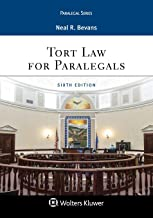 Tort Law for Paralegals (Aspen Paralegal) PDF
