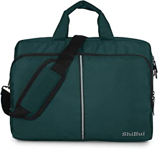 SHIBUI Tojo Series Unisex Polyester Carry Upto 15.6-inch Cross over Stylish Messenger Bag with Detachable Shoulder Straps ...