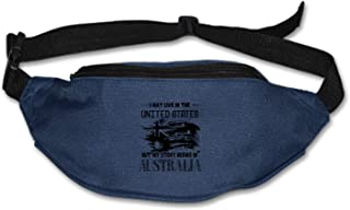 Running Belt Take Me Waist Pack-Water Resistant Runners Belt Fanny Pack for Hiking Fitness– Adjustable Running Pouch