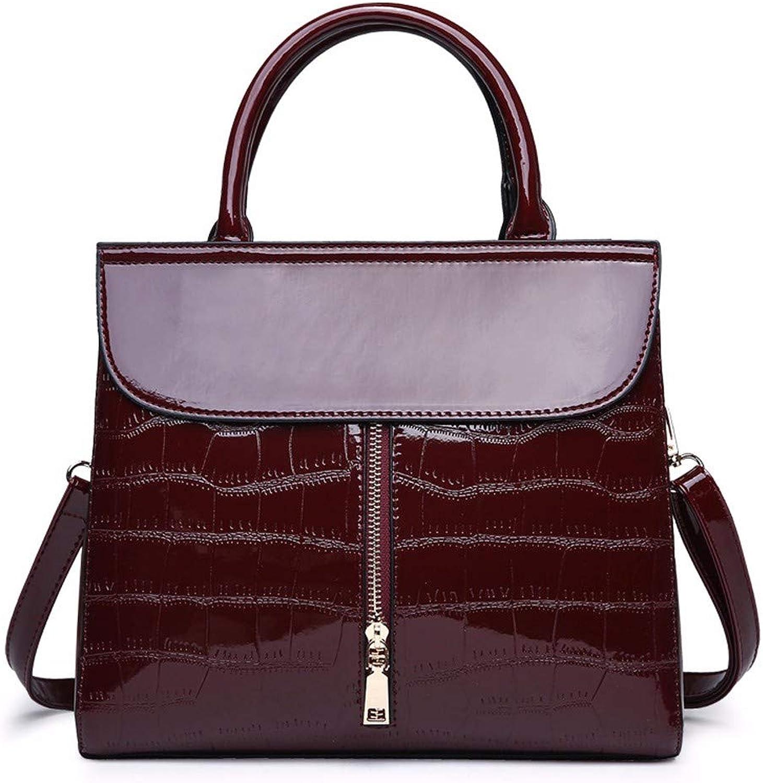 Qiruian Damen Damen Damen Handtaschen Schultertaschen PU Leder Messenger Tote Tasche Retro Mode große Kapazität Crossbody Umhängetasche B07QCPL9L7  Mangelware b94b35