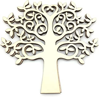 wood tree cutout