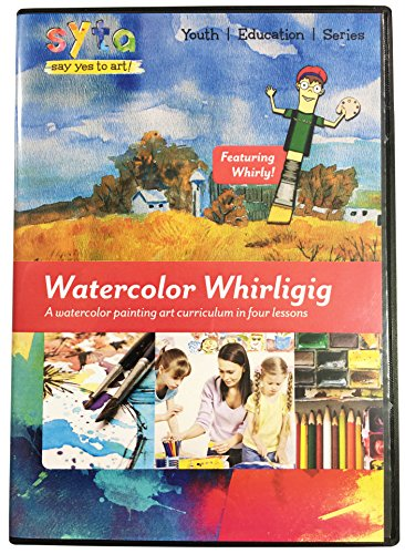 Learn Watercolor Painting in 4 Easy Lessons DVD | Country Life | How To Paint with Watercolor | Watercolor Techniques DVD | Landscape Art | Watercolor Painting Lessons Video | Watercolor DVD| Volume 1
