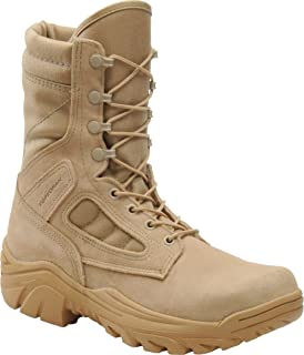 Corcoran Boots: Men`s 8 Inch Tan Military Boot CV4100-12W