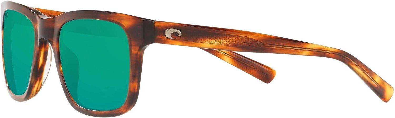 Costa Del Mar Men's Tybee Rectangular Sunglasses