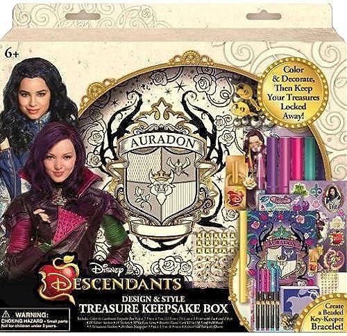 Disney Descendants Design & Style Treasure Keepsake Box by Innovative Designs