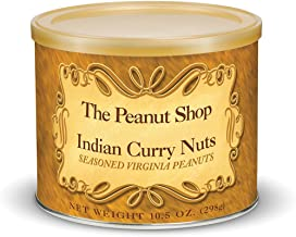 The Peanut Shop of Williamsburg Indian Curry Seasoned Peanuts, 10.5 Ounce