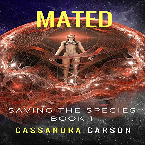 Mated audiobook cover art