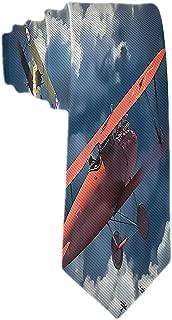 Corbata clásica para hombre Corbata de avión de combate Aviones ...
