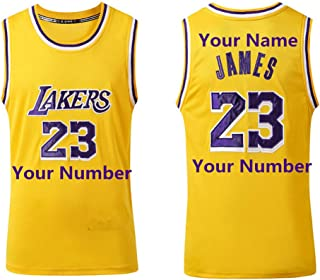 LaBiTi Personalized Basketball Jersey Men's Basketball Uniforms Customized Gifts Custom Name/Number Team Sports Shirt