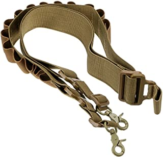 LucieABC Tactical 2 Point Shotgun Ammo Sling (Holds 15 Shells)