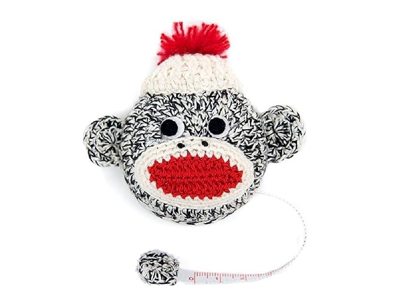 Tape Measure, Fun Handmade Crochet Designed Animals (Monkey)