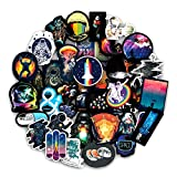 DSSJ Outer Space Graffiti Stickers Astronaut For Luggage Motorcycle Laptop Refrigerator Toy Car PVC Waterproof Sticker100pcs/set