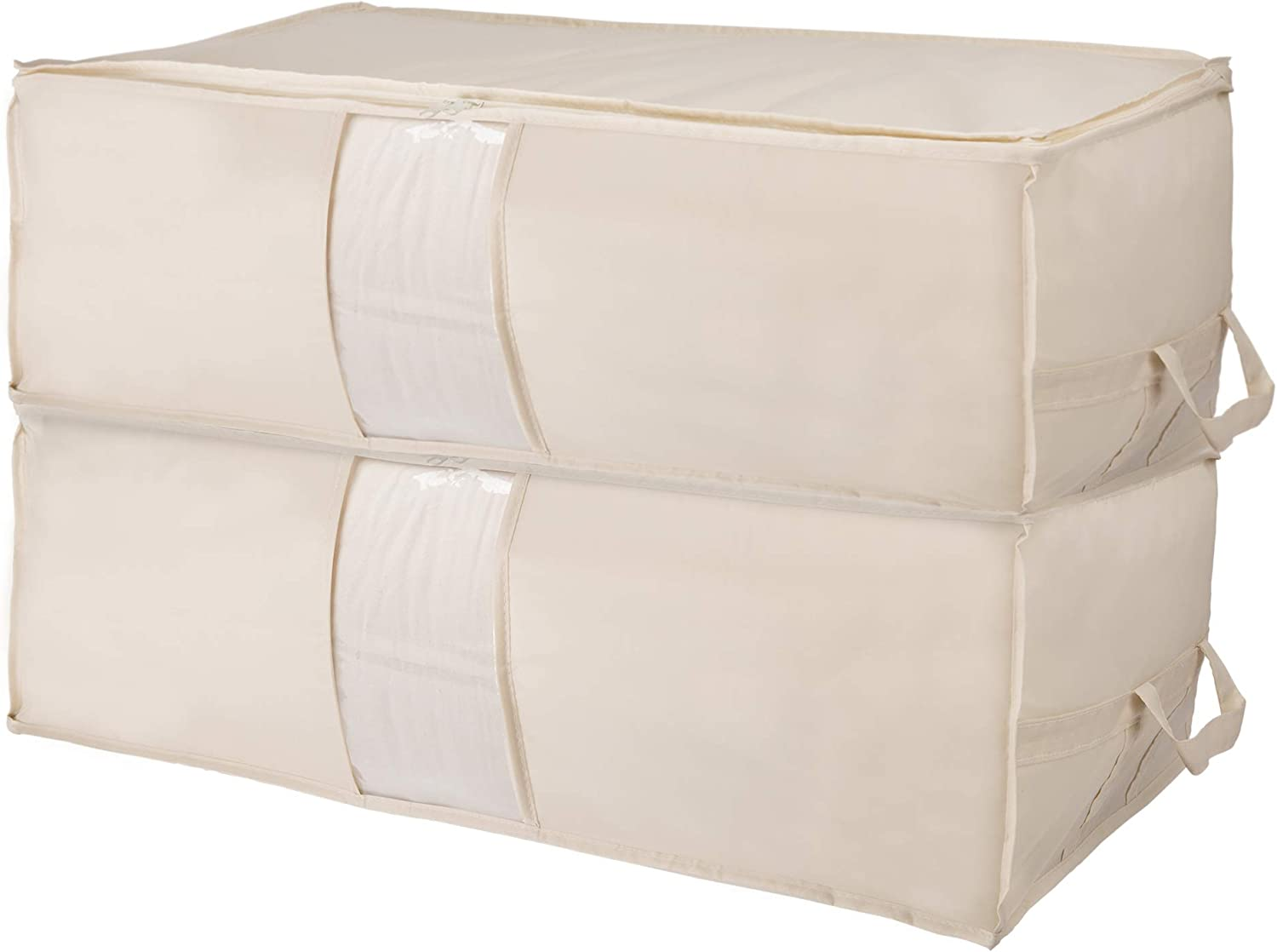 Surblue Clothing Storage Bags with Window Handl Clear Ranking TOP12 Reinforced Max 60% OFF