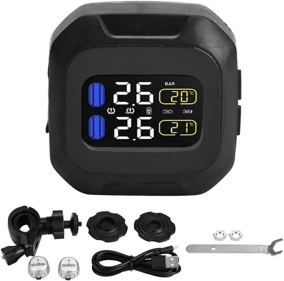 Tire Pressure Monitor System Motorcycle Wireless Free Shipping Cheap Bargain Gift Manufacturer OFFicial shop TPMS Ti Sensor