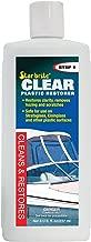 Star brite Clear Plastic Restorer - Haze & Scratch Remover - Step 1