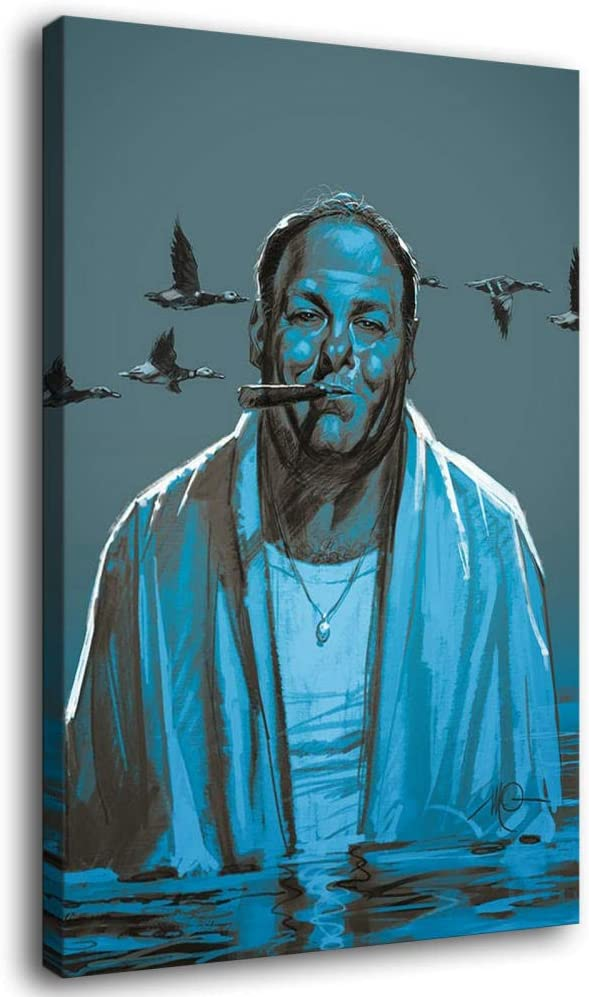 Tony Soprano Fan Art Canvas Wall and Picture Poster OFFicial Import Prin