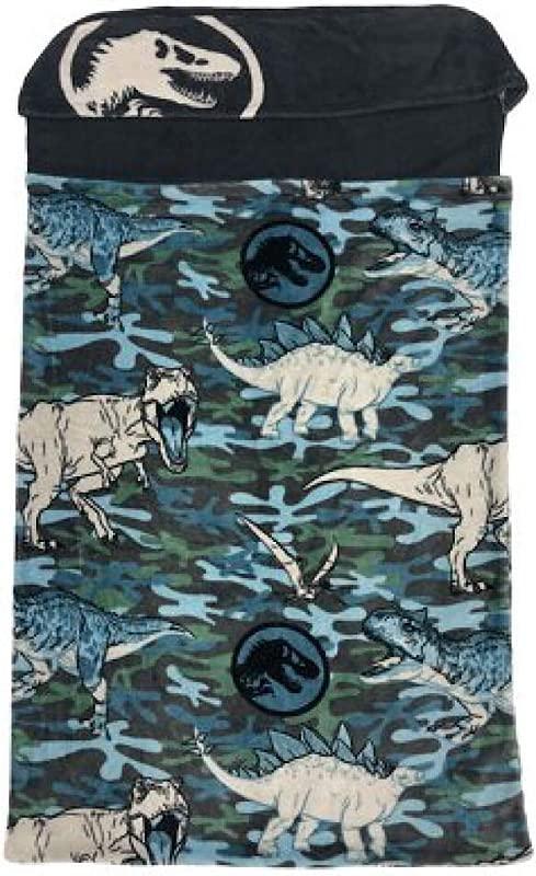 Jurassic World Movie Kids Step In Blanket