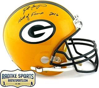 Brett Favre Signed Helmet - Riddell Authentic