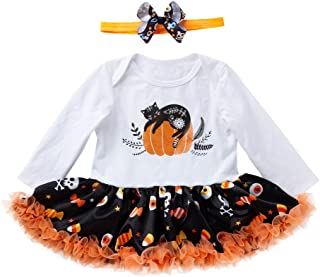 Fairy Baby Newborn Girls Halloween Costume Clothes 2pcs Outfit Tutu Skirt Dress Set