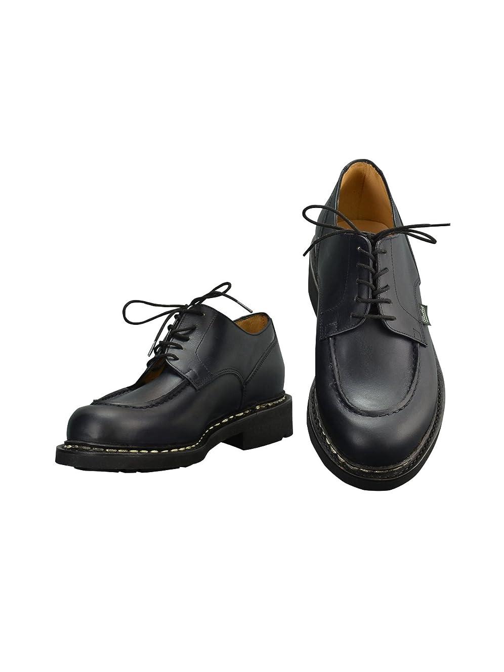 繰り返し要旨生きる[パラブーツ] シャンボード CHAMBORD 名靴Uチップ&オイルドレザーシューズ ネイビー